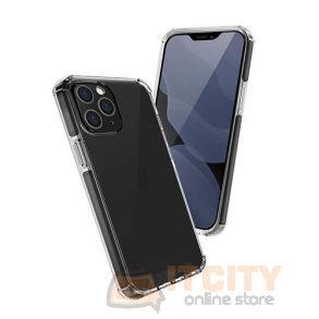 Uniq Hybrid Case for iPhone 12 Pro Max Combat Antimicrobial - Carbon Black