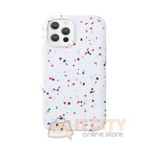 Uniq Coehl Case for iPhone 12 Pro Max Terrazzo - Natural White