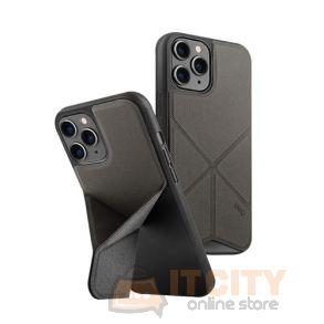 Uniq Hybrid Case for iPhone 12/12 Pro Transforma - Charcoal Grey