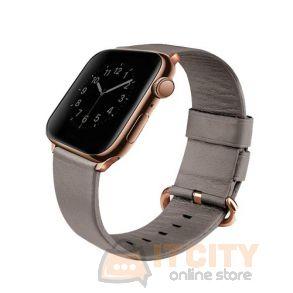 Uniq Mondain Apple Watch 4 Genuine Leather Strap 40MM - Sand