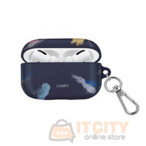 Uniq Coehl Reverie Airpods Pro Case - Prussian Blue