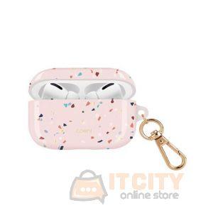 Uniq Coehl Terrazzo Airpods Pro Case - Blush Pink