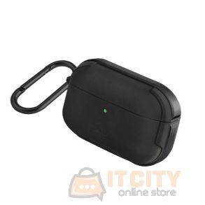 Uniq Valencia Airpods Pro Antimicrobial Case - Midnight Black