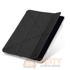Uniq Yorker New iPad Air 10.9 (2020) KanvasAntimicrobial - Osbidian Knit Black