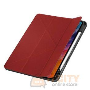Uniq Transforma Rigor New iPad Air 10.9 (2020) Antimicrobial - Coral Red