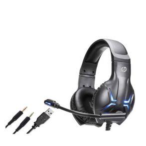 HP DHE-8001 Stereo Headphone - Black