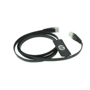 HP DHC-CAT7-FLAT CAT7 Network Cable 1M – Black
