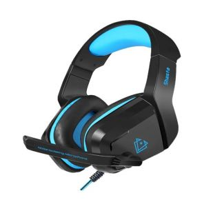 Vertux Shasta Ambient Noise Isolation Over-Ear Gaming Headset - Blue