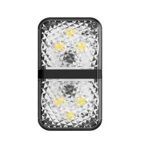 Baseus Door Open Warning Light 2Pcs CRFZD-01 - Black
