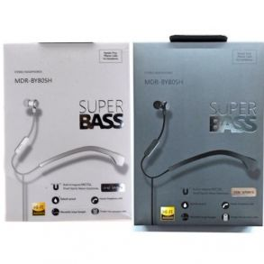 Super Bass MDR-BY80SH Headset - Black
