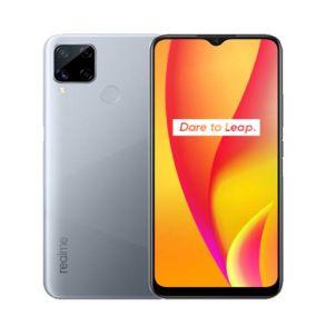 Realme C15 64GB/4GB 6.5 Inch Phone - Seagull silver
