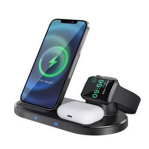Borofone BQ10 Wise Source 3-in-1 Vertical Wireless Fast Charger